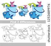 find the several differences... | Shutterstock .eps vector #1252689976