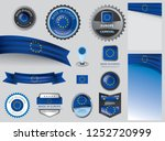 made in europe seal   european ... | Shutterstock .eps vector #1252720999