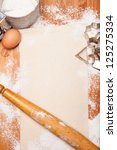 Pastry  Rolling Pin  Eggs And...