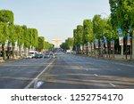 paris  france   may 26  2018 ... | Shutterstock . vector #1252754170