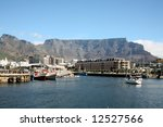 Cape Town Harbour Overlooked B...