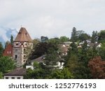 stony tower and housing estate... | Shutterstock . vector #1252776193
