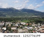 vaduz  liechtenstein on august... | Shutterstock . vector #1252776199