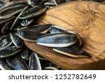 pile  heap of  roasted... | Shutterstock . vector #1252782649