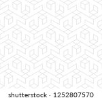 abstract geometric pattern with ... | Shutterstock .eps vector #1252807570