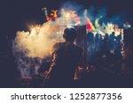 street food is delicious asian...   Shutterstock . vector #1252877356