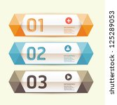 modern design template   can be ... | Shutterstock .eps vector #125289053