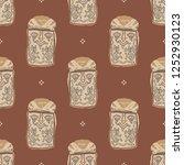 seamless geometrical pattern... | Shutterstock .eps vector #1252930123