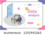 flat isometric concept of... | Shutterstock . vector #1252942363