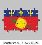Jigsaw Puzzle Of Guadeloupe...