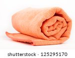 Fitness Towel Isolated On White