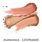 close up of face powder on... | Shutterstock . vector #1252966600