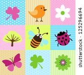 Spring Cartoons For Web Or Print
