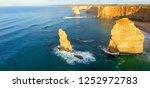 bird eye view of the great... | Shutterstock . vector #1252972783