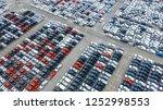 cars export terminal in export... | Shutterstock . vector #1252998553