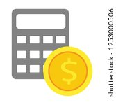 money saving concept. vector... | Shutterstock .eps vector #1253000506