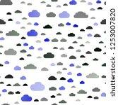 dark multicolor  rainbow vector ... | Shutterstock .eps vector #1253007820