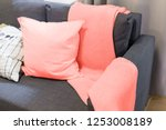 color of the year 2019 living... | Shutterstock . vector #1253008189