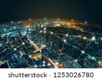network and connection... | Shutterstock . vector #1253026780