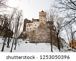 bran  romania   january 7  2009 ... | Shutterstock . vector #1253050396
