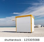 White Commercial Box Stand At...