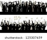 happy people | Shutterstock . vector #125307659