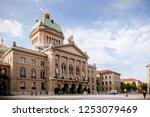 sep 28  2013 bern  switzerland  ... | Shutterstock . vector #1253079469