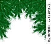vector image  christmas tree... | Shutterstock .eps vector #1253104606