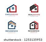 logo design for house ...   Shutterstock .eps vector #1253135953