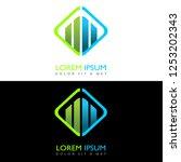 creative design logo accounting ...   Shutterstock .eps vector #1253202343