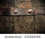 Vintage Wine Barrel Texture