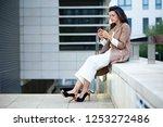 shot of beautiful young...   Shutterstock . vector #1253272486