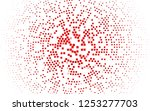 light red vector template with... | Shutterstock .eps vector #1253277703