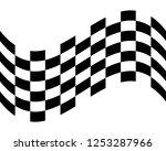 flag race vector icon | Shutterstock .eps vector #1253287966