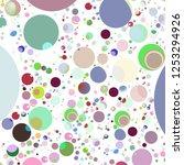 multicolored geometric circle... | Shutterstock . vector #1253294926