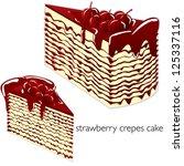 cake | Shutterstock .eps vector #125337116