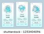 antivirus subscription... | Shutterstock .eps vector #1253404096