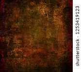 old canvas texture grunge... | Shutterstock . vector #1253419123