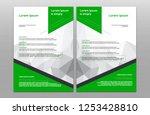 modern flyers brochure design...   Shutterstock .eps vector #1253428810