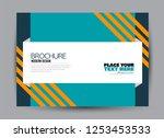 flyer  brochure  billboard... | Shutterstock .eps vector #1253453533