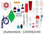 illustration icon on theme big... | Shutterstock .eps vector #1253462143