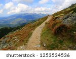 pathway in tatra mountains ... | Shutterstock . vector #1253534536