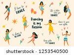 vector illustration of group of ... | Shutterstock .eps vector #1253540500