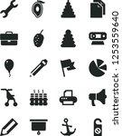 solid black vector icon set  ... | Shutterstock .eps vector #1253559640