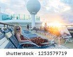 at philipsburg  st martin  ...   Shutterstock . vector #1253579719