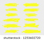 a selection of the line of... | Shutterstock .eps vector #1253602720