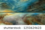dream land series. backdrop... | Shutterstock . vector #1253624623