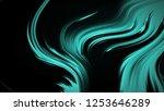 abstract emerald green... | Shutterstock . vector #1253646289