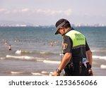 valencia  spain   july 5th ... | Shutterstock . vector #1253656066