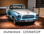 frankfurt   sept 2015 ... | Shutterstock . vector #1253665129